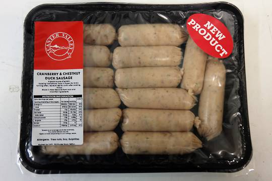 Duck Breakfast Sausage (420GM)