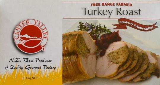 Frozen Turkey Roast with Cranberry & Apple Stuffing (1.1kg)