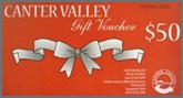 Canter Valley Gift Voucher
