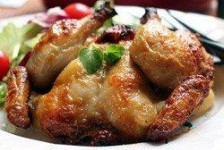 Honey Glazed Poussin