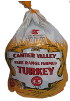 Free range turkey